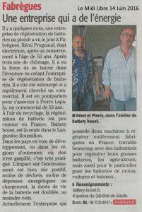 Midi Libre 14-06-2016